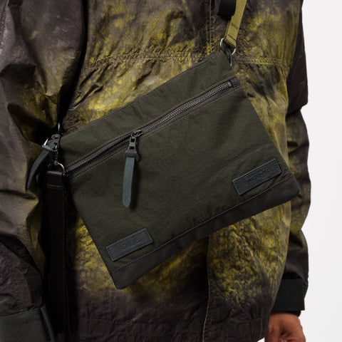 Nemen Masterpiece Sacoche Bag in Military Green - Notre