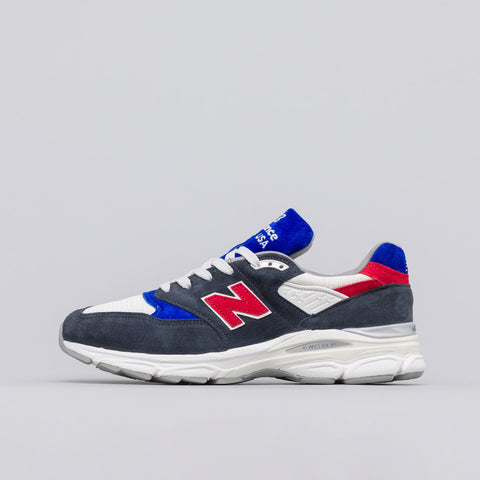 New Balance US998MC1 in Navy/Red/White - Notre
