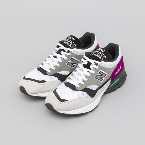 New Balance M15009EC in Off White/Grey/Purple - Notre
