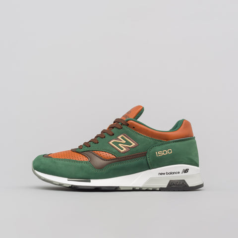 New Balance Made in the UK M1500GT in Green/Tan - Notre