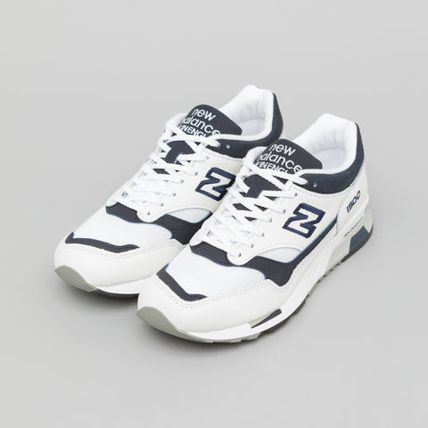 New Balance M1500WWN in White/Navy - Notre