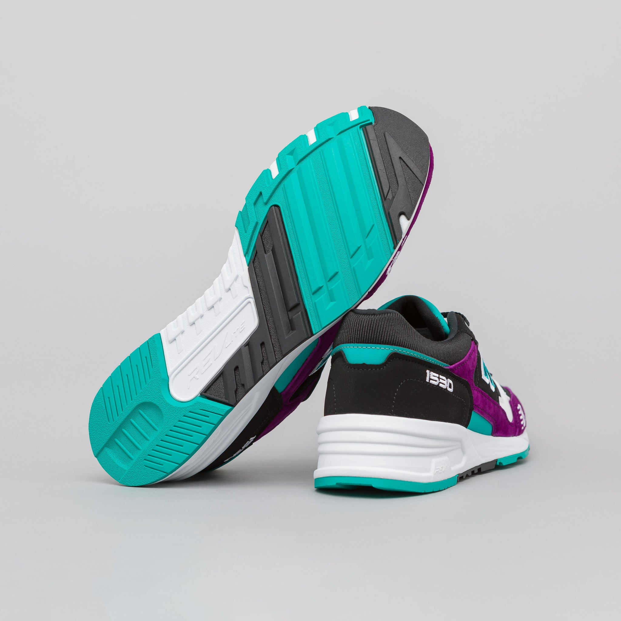 M1530KPT in Purple/Black/Teal