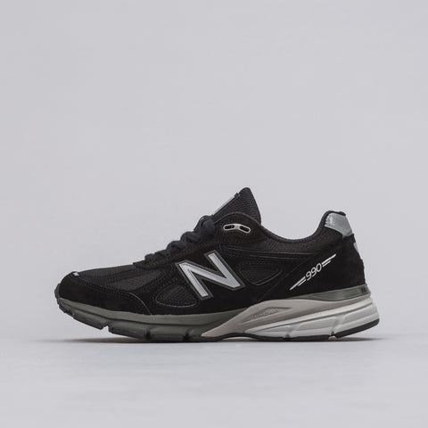 New Balance M990BK4 in Black/Silver - Notre