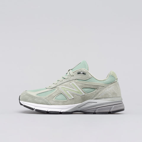 New Balance M990SM4 in Silver Mint - Notre