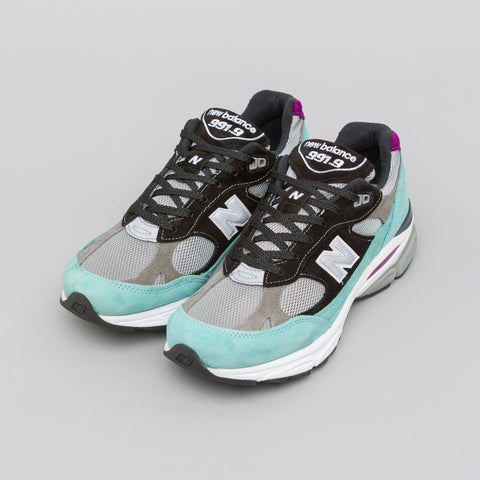 New Balance M9919EC in Teal/Black - Notre