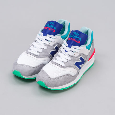 New Balance M997CDG in Grey/Ozone Blue - Notre