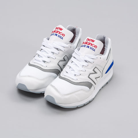 New Balance M997CHP in White - Notre