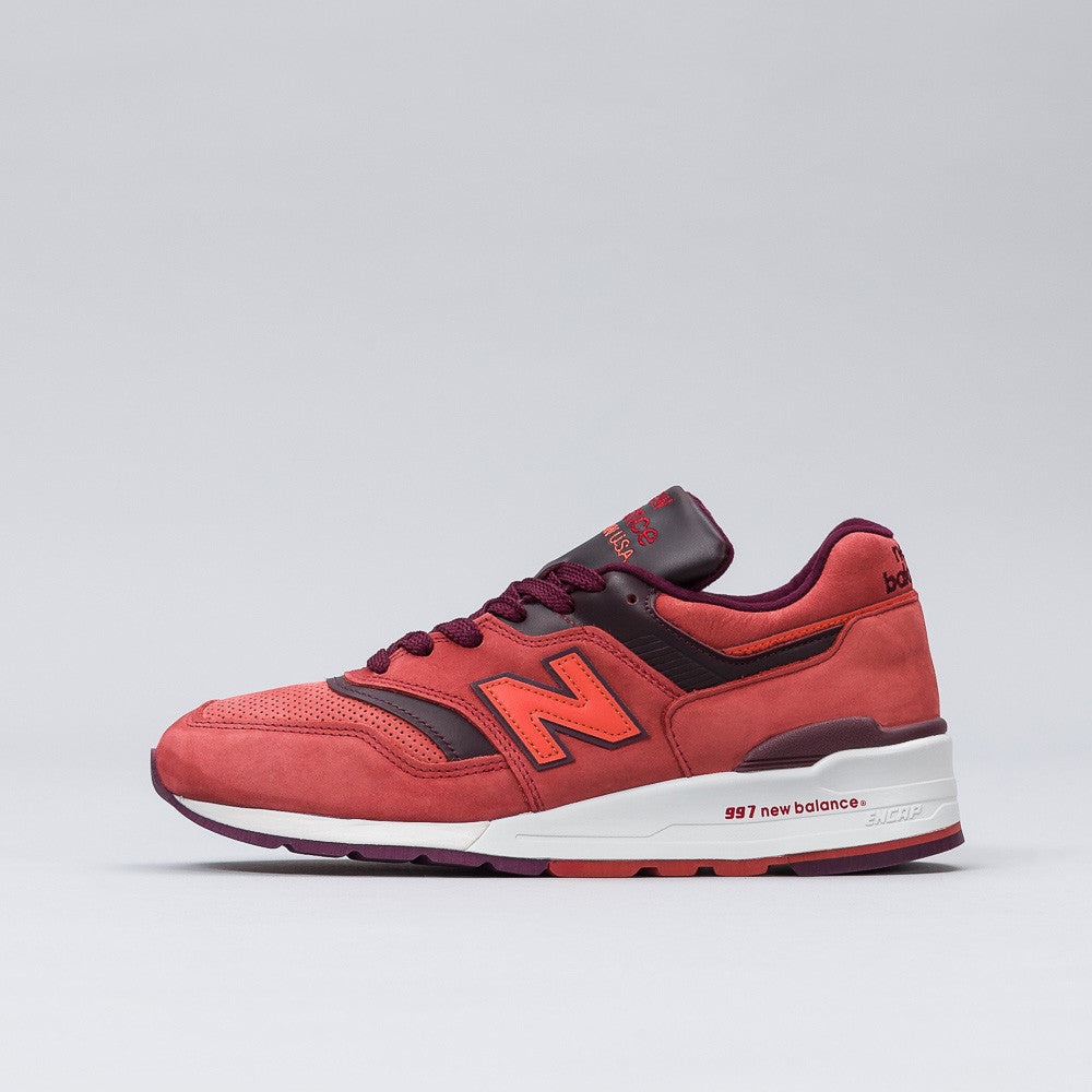 New Balance - M997DTAG in Clay Red/Burgundy - Notre - 1