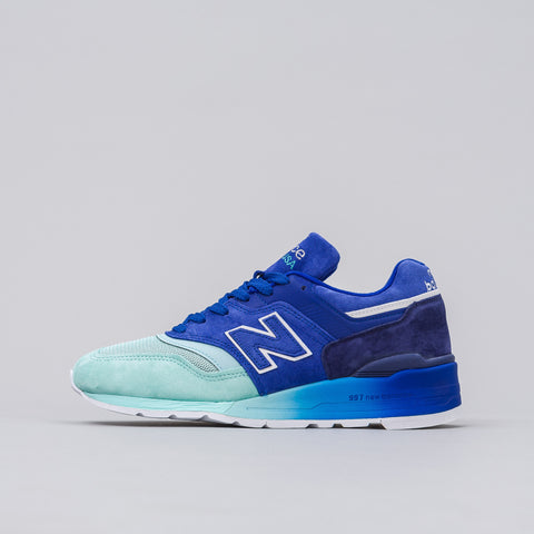 New Balance M997NSB in Blue/Turquoise - Notre