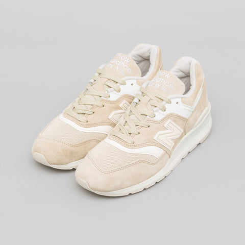New Balance M997PAB in Cream - Notre