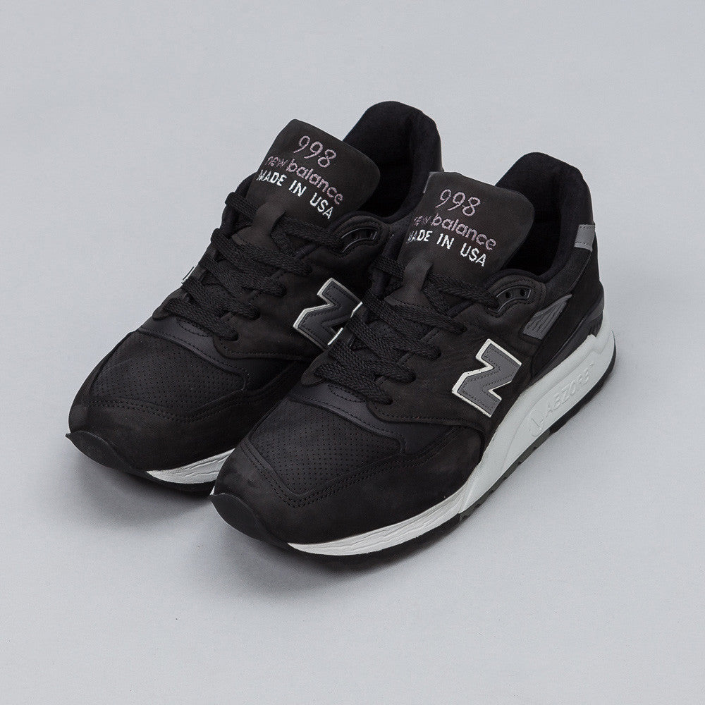 New Balance M998DPHO in Black Side View