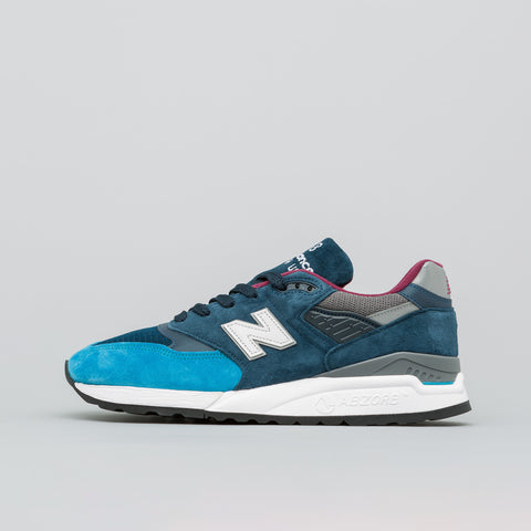 New Balance M998TCA Made in the USA in Black/Green - Notre