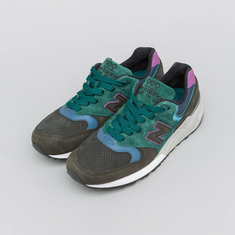 New Balance M999JTB Made in the USA in Dark Blue/Light Blue - Notre