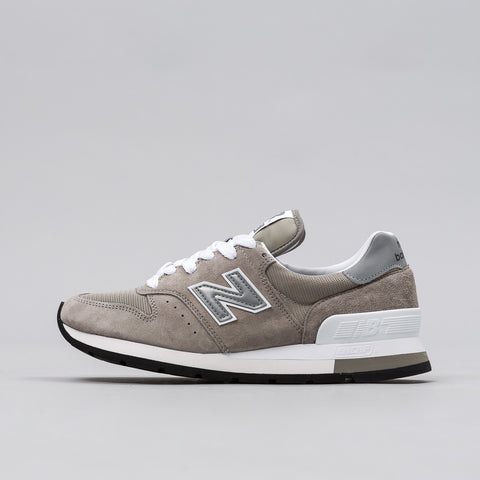 New Balance M995GR in Grey Made in USA - Notre