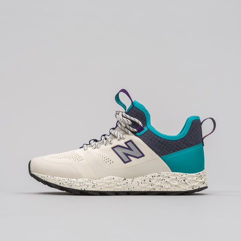 New Balance MFLTBDWP Trailbuster in Cream/Turquoise - Notre