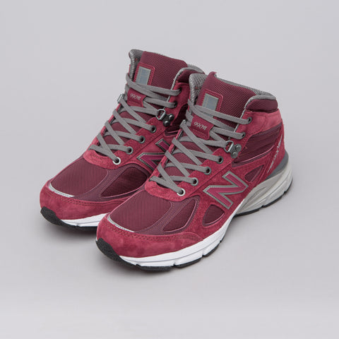 New Balance MO990BU4 in Burgundy - Notre