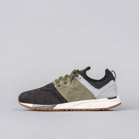 New Balance MRL247LG in Olive/Black - Notre