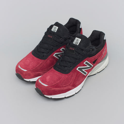 New Balance M990RB4 in Burgundy - Notre