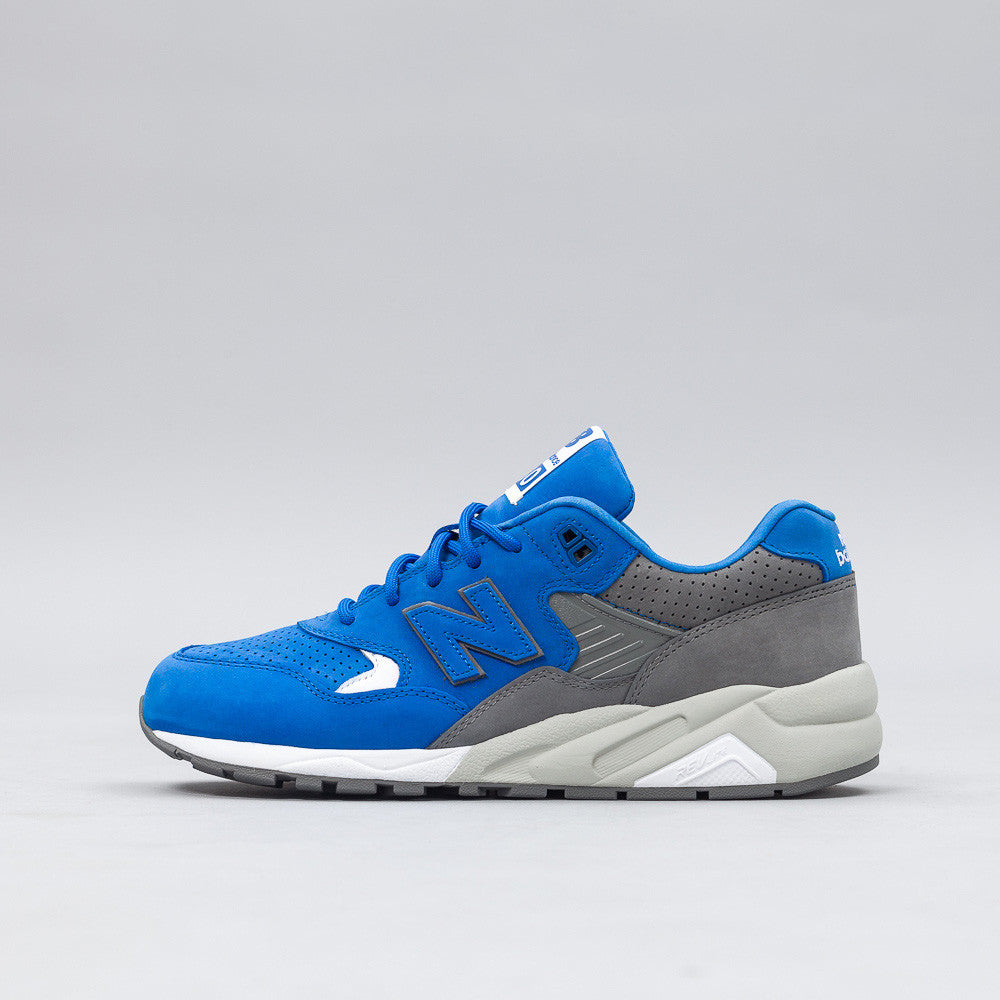 New Balance x Colette MRT580C6 in Blue/Grey Side View