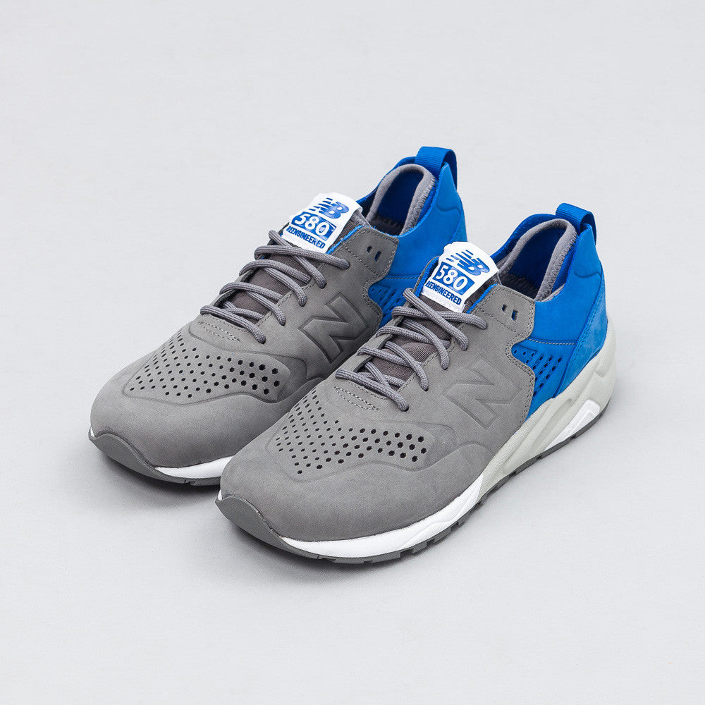 New Balance X Colette MRT580D5 Deconstructed in Blue/Grey Side View