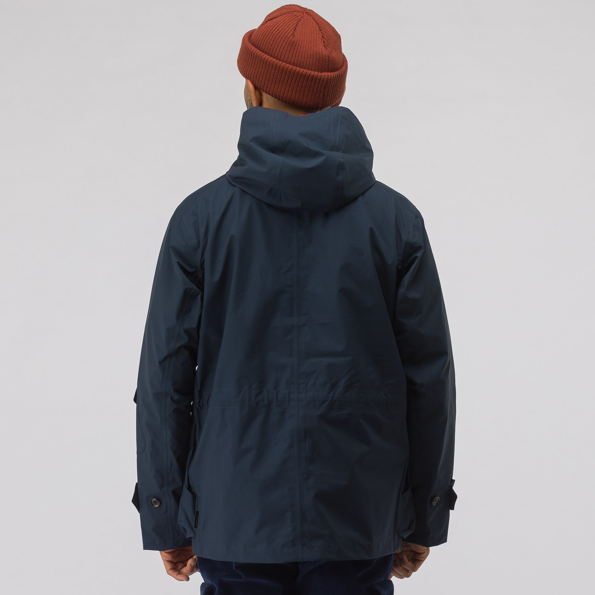 x nanamica GORE-TEX® Cruiser Jacket in Navy