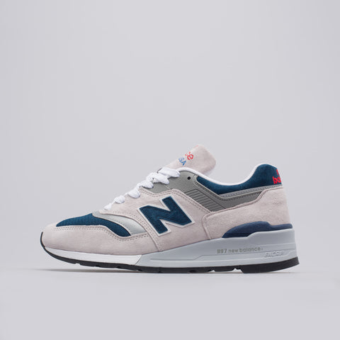 New Balance M997WEB in Grey/Navy - Notre