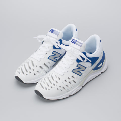 New Balance MSX90HTA in White/Blue - Notre