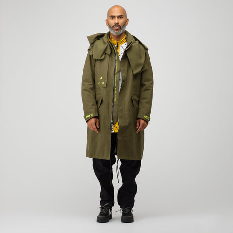 NikeLab ACG GORE-TEX® Hard Shell Parka in Olive Canvas - Notre