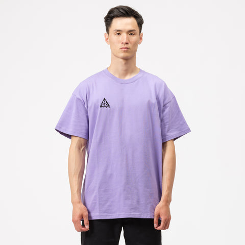 Nike ACG Logo T-Shirt in Space Purple - Notre