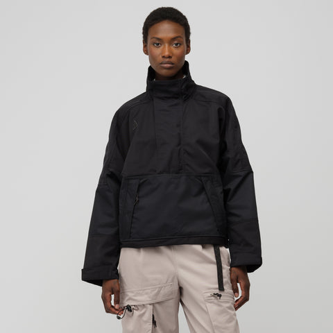 NikeLab Women's ACG Half Zip Anorak in Black - Notre