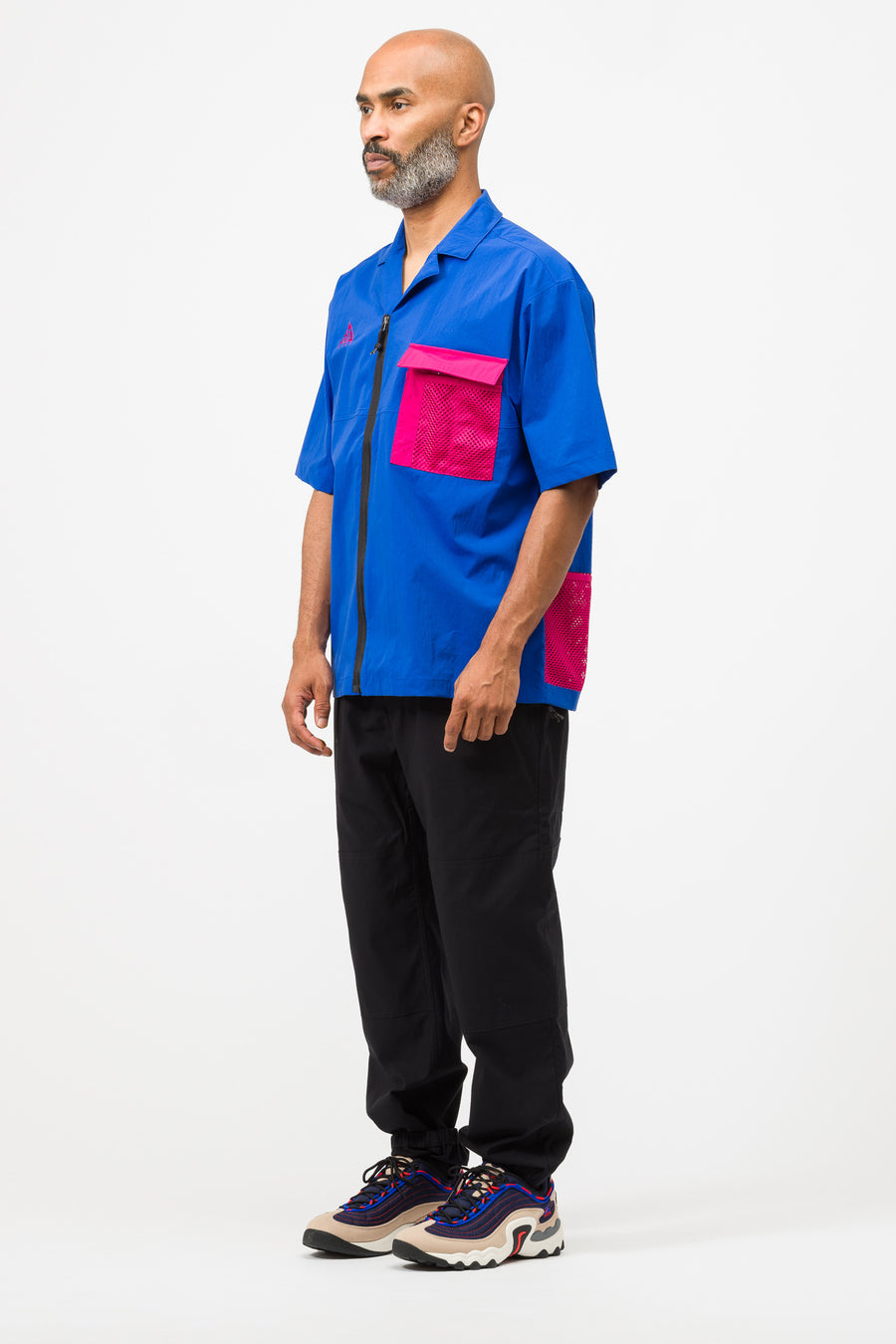 Nike ACG Top in Royal/Fuchsia - Notre