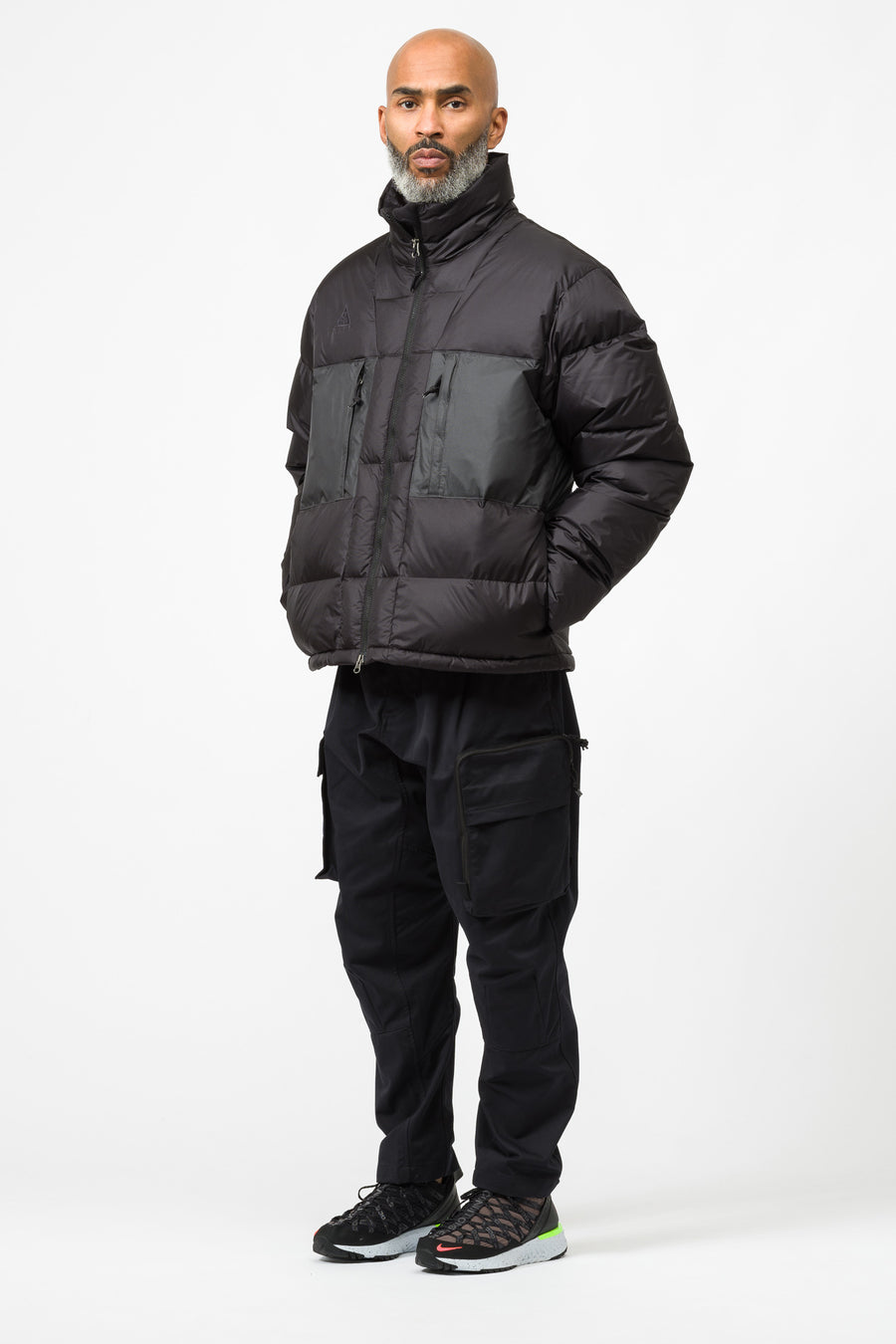 Nike ACG Down Fill Jacket in Black - Notre