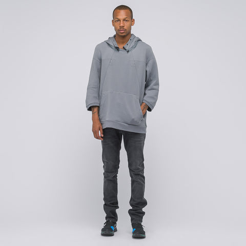 NikeLab ACG Fleece Top in Grey - Notre