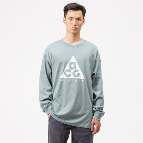 Nike ACG Long-Sleeve T-Shirt in Aviator Grey - Notre