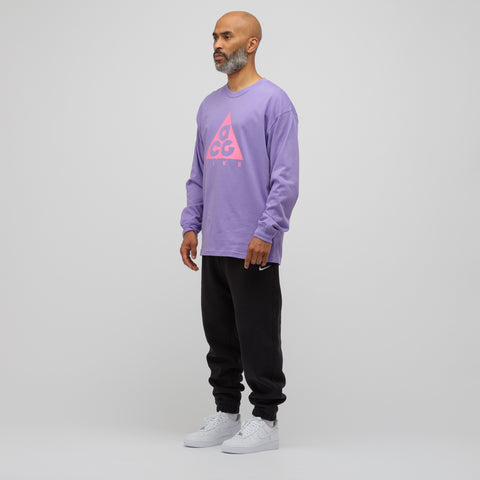 NikeLab ACG Long Sleeve T-Shirt in Purple - Notre