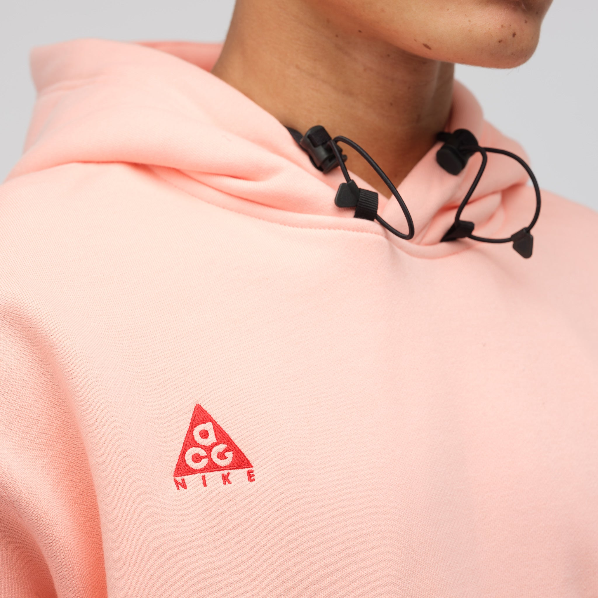 ACG Pullover Hoodie in Bleached Coral