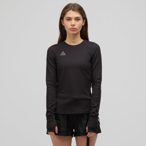 Nike ACG Women's Long Sleeve Top in Black - Notre