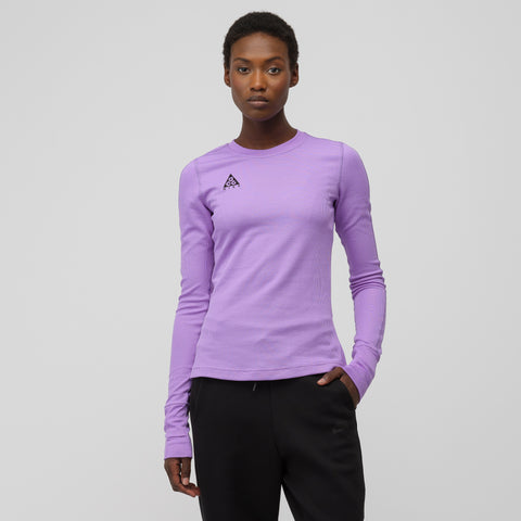 NikeLab Women's Long Sleeve Top in Violet - Notre