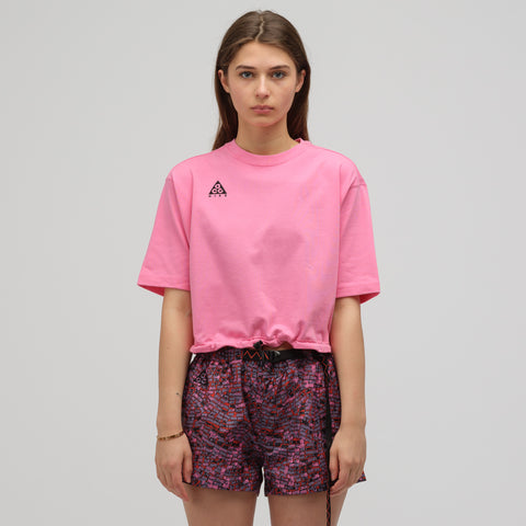 Nike ACG Short Sleeve Top in Lotus Pink - Notre