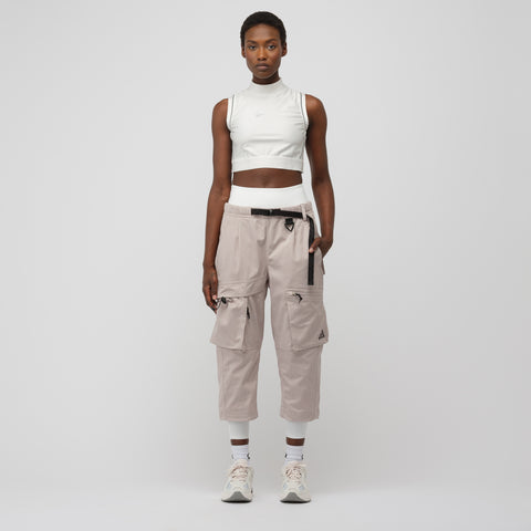 NikeLab Women's Woven Cargo Pant in Moon Particle - Notre