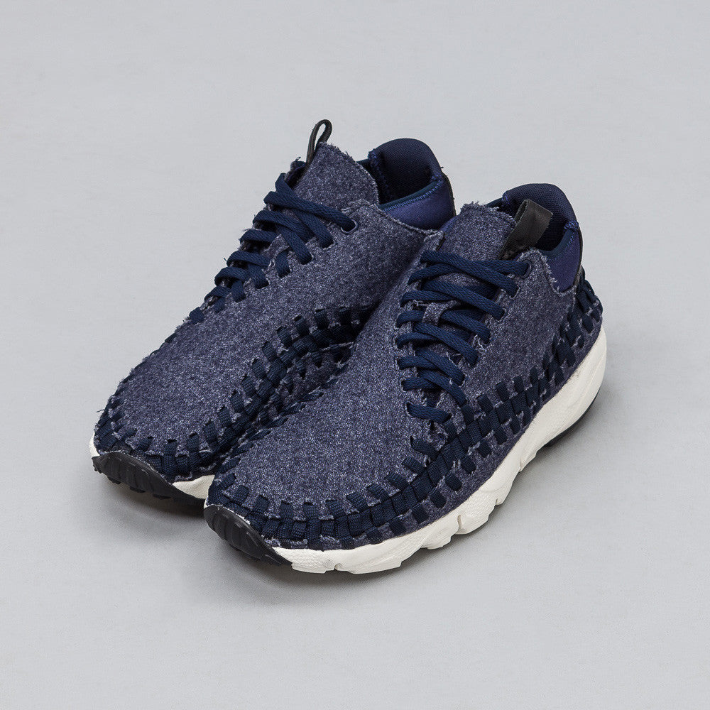 Nike - Nikelab Air Footscape Woven Chukka SE in Obsidian - Notre - 1