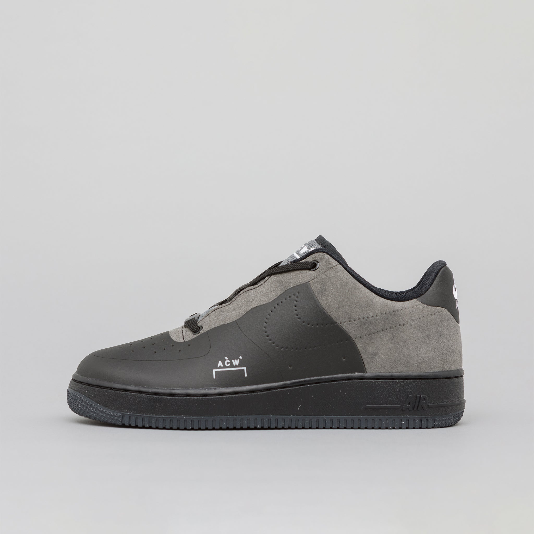 big sale 6fb33 26c93 x A-COLD-WALL Air Force 1 07 in Black