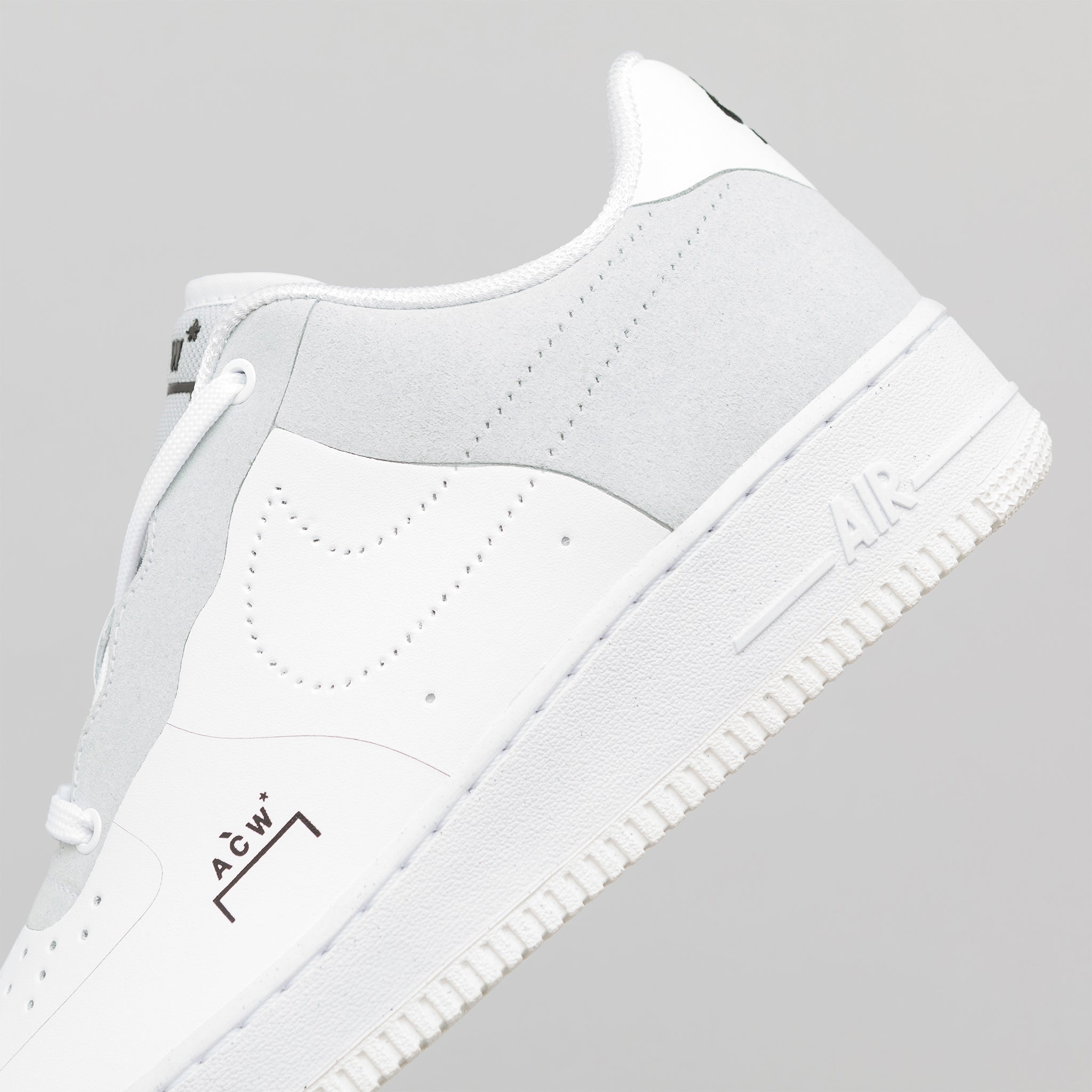 the best attitude d201d 4c52b x A-COLD-WALL Air Force 1 07 in White