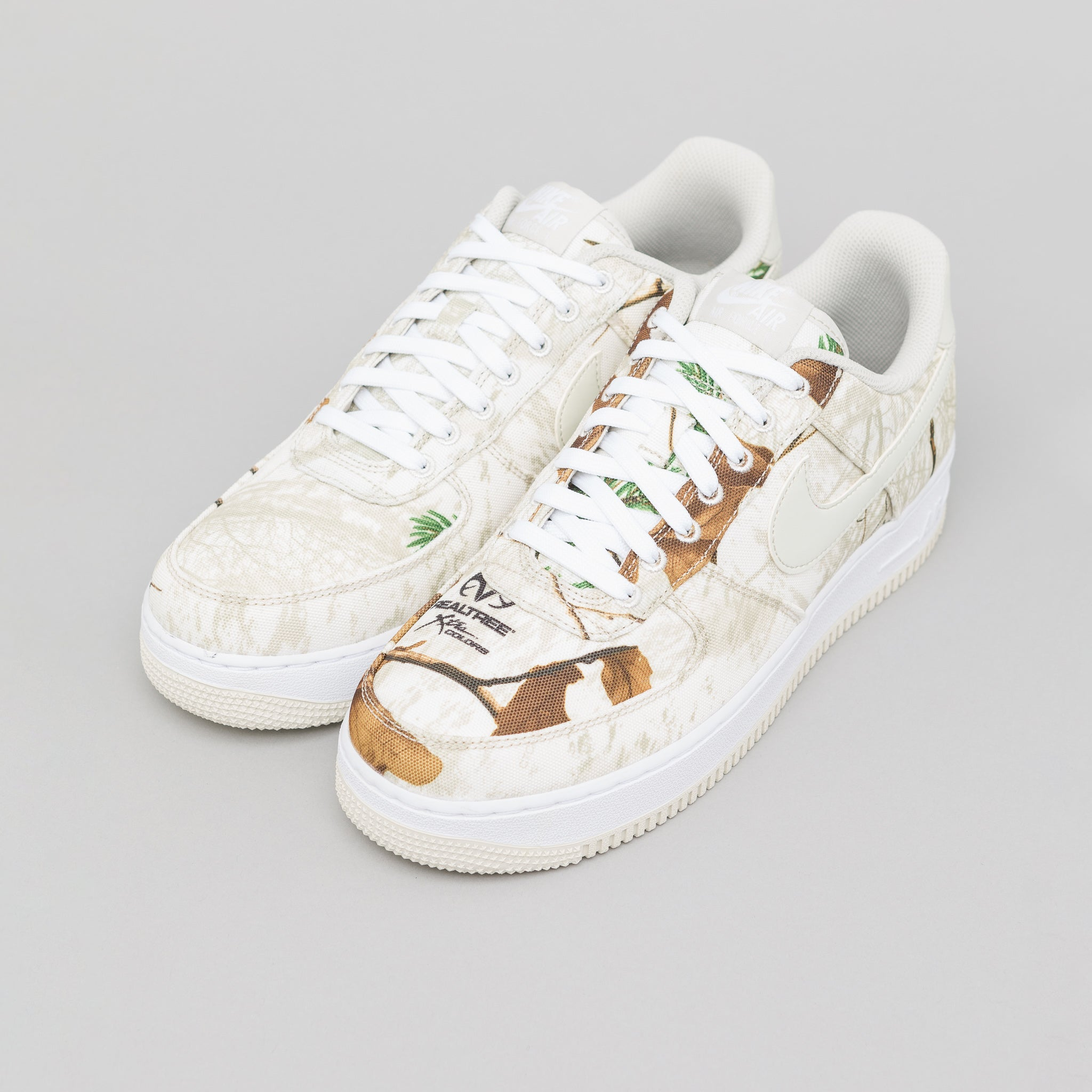 detailed look a3381 d5abe Air Force 1 07 LV8 3 in White Light Bone