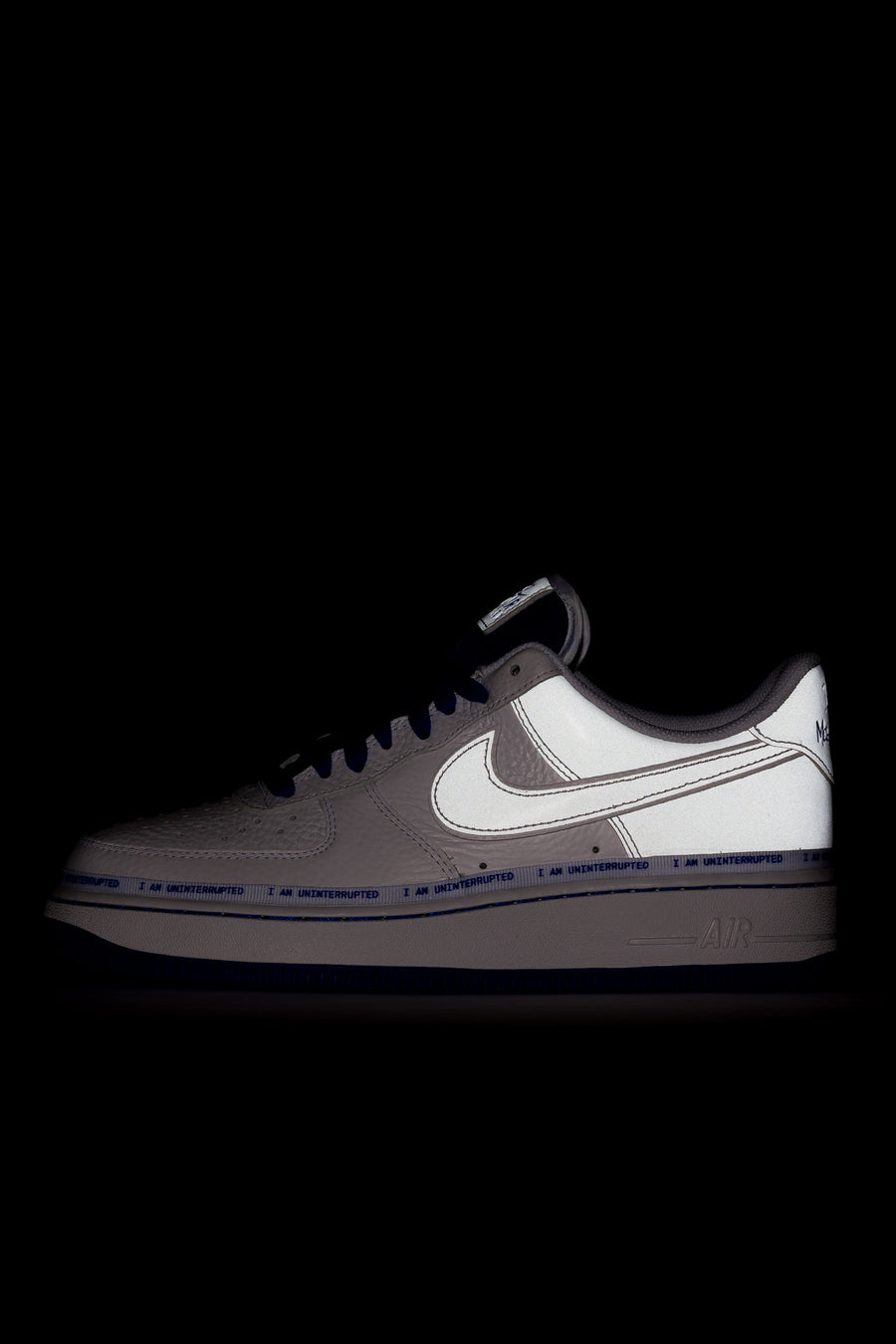 Nike Air Force 1 07 MTAA in White/Black/Blue - Notre