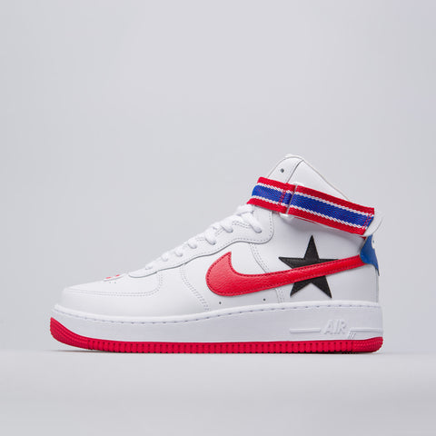Nike Nikelab x Ricardo Tisci Air Force 1 hi in White/Red/Black - Notre