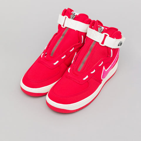 Nike x Emotionally Unavailable Air Force 1 High in Team Red - Notre