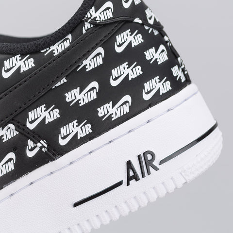 Nike Air Force 1 Air Emblazoned in Black - Notre