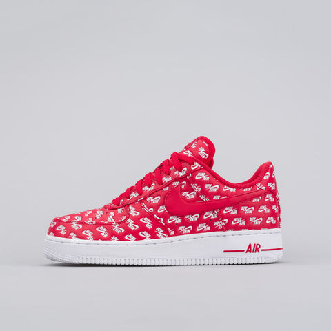 Nike Air Force 1 Air Emblazoned in Red - Notre