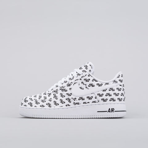 Nike Air Force 1 Air Emblazoned in White - Notre